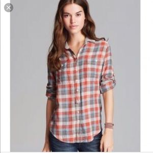 Nordstrom Jach's Girlfriend Lightweight Flannel.